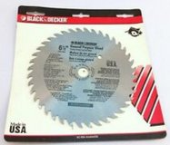 "Black & Decker 6 ½"" Wood Hawk Saw Blade in Houston, Texas"