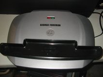 "Large George Foreman grill w/drip tray.  18"" wide in Bolingbrook, Illinois"