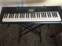 Casio Keyboard with stand in Chicago, Illinois