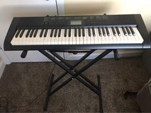 Casio Keyboard and stand in Chicago, Illinois