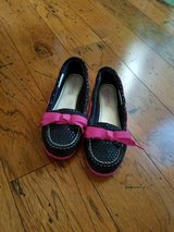 LIKE NEW!! Girls Sperry Top-Siders, Size 3.5M in Fort Campbell, Kentucky
