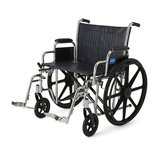 Medline # MDS806800 Extra-Wide Excel Wheelchair in Plainfield, Illinois