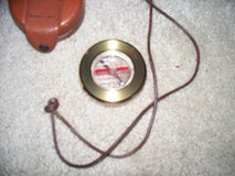 LEATHER COVER COMPASS in Travis AFB, California