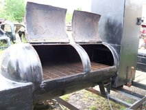 BBQ Pit Smoker Trailer in Kingwood, Texas