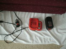 NiCd FAST Charger 9.6v to 18v, 14v Battery and removable drill chuck in Orland Park, Illinois