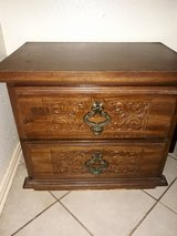 SOLID WOOD NIGHT STAND in Kingwood, Texas