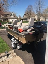 16' Fishing Boat W/Trailer in Naperville, Illinois