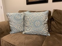 Two Decorative Pillows in Bartlett, Illinois
