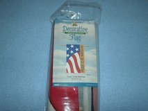 """Decorative Flag """"Proud to be American"""" in Westmont, Illinois"""