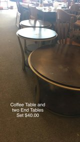 Coffee Table and Two End Tables in Fort Leonard Wood, Missouri