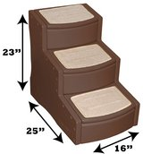 Pet Gear Easy Step III Pet Stairs, 3-Step for cats and dogs in Glendale Heights, Illinois