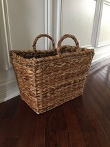 Crate & Barrel Magazine Basket in Yorkville, Illinois