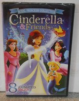 NEW Royal Princess Collection Cinderella & Friends DVD 8 Animated Tales in Morris, Illinois