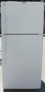 18 CU. FT. GE REFRIGERATOR WITH (ICE MAKER)- WHITE in Camp Pendleton, California
