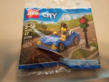 Lego #30349 City Blue Car 30349 Polybag in Naperville, Illinois
