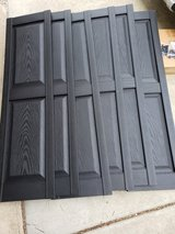 3 Sets - 14 1/4-Inch W x 53-Inch H Mid-America Vinyl, Williamsburg Double Panel Shutters, w/Inst... in Glendale Heights, Illinois