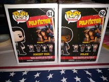 2 pulp fiction Funko Pops in Fort Campbell, Kentucky