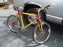 "Lee Chi 26"" 10 Speed Red & Yellow Mountain Bicycle. in Bolingbrook, Illinois"