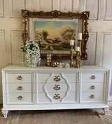 Dresser- White and gold in Houston, Texas