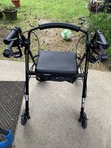 Drive walker with seat and wheels in Houston, Texas