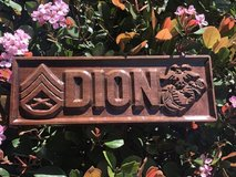 Wood desk name plates, plaques- Father's Day? in Camp Pendleton, California