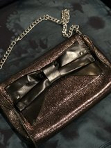 Metallic leather hand bag by Nanette Lepore in The Woodlands, Texas
