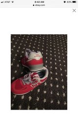 Girls toddler red and gray new balance size 9 brand new in Baytown, Texas