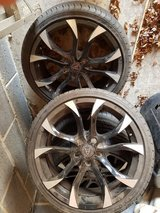 4 Alloy Wheels and tyres in Lakenheath, UK