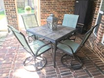 SONOMA Coronado Patio Swivel Chairs (4) and square table in Houston, Texas