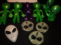 Alien party decors in Houston, Texas