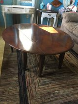 "Drop leaf coffee table 42""round  18"" tall in Conroe, Texas"