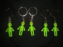 Alien keychains in Spring, Texas