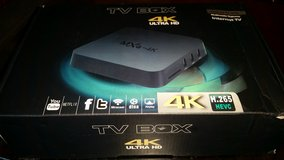 MXQ 4K Android Box in Leesville, Louisiana
