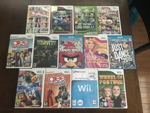 Wii/Wii U Games in Yorkville, Illinois