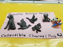 Brawley pewter collectible pins and charms in Yucca Valley, California
