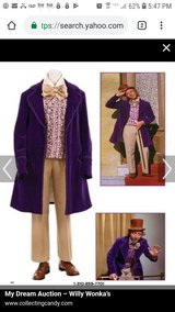 Willy wonka costume made in Fort Campbell, Kentucky