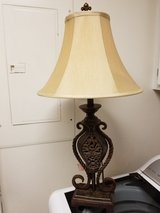 Iron Table Lamp REDUCED! in Baytown, Texas