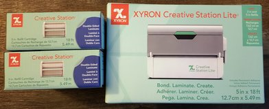 NEW!  Xyron Creative Station Lite and 2 additional refills in Joliet, Illinois