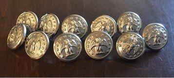 11 Small Antique Buttons in Bolingbrook, Illinois