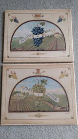 Wine/grapes pictures decor in Orland Park, Illinois
