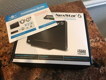 Nex star 6g usb 3 enclosure with 1terabyte hard drive included   $45.00 Text Bobby in Conroe, Texas