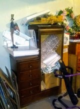 Vintage 4-Drawer Combo Armoire in Bolingbrook, Illinois