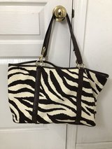 Large Michael Kors canvas tote (new) in Bolingbrook, Illinois