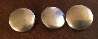 3 Metal Coverable Buttons in Naperville, Illinois