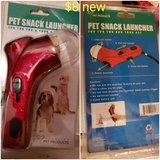 Pet snack launcher in Travis AFB, California