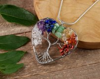 Tree Of Life Heart Pendant in Yucca Valley, California