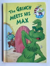 RARE Vintage 1998 The Grinch Meets His Max The Wubbulous World of Dr Seuss Hard Cover Book Age R... in Chicago, Illinois