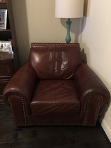 Large leather chair in Spring, Texas