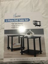 New End tables in box never opened in Fort Hood, Texas