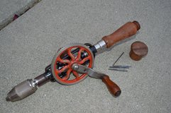 Vintage Hand Drill in Travis AFB, California